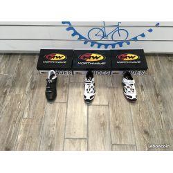 chaussures de vélos de course et VTT NorthWave