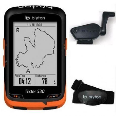 BRYTON RIDER 530 H CAPTEUR HRM chez vélo horizon port gratuit à partir de 300€