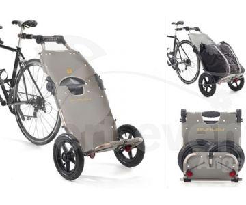 Panier remorque Burley Travoy chez vélo horizon port gratuit à partir de 300€