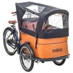 Tente de protection de pluie Babboe Curve chez vélo horizon port gratuit à partir de 300€