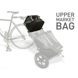 Sacoche Market noir supérieur pour remorque Burley Travoy chez vélo horizon port gratuit à partir de 300€
