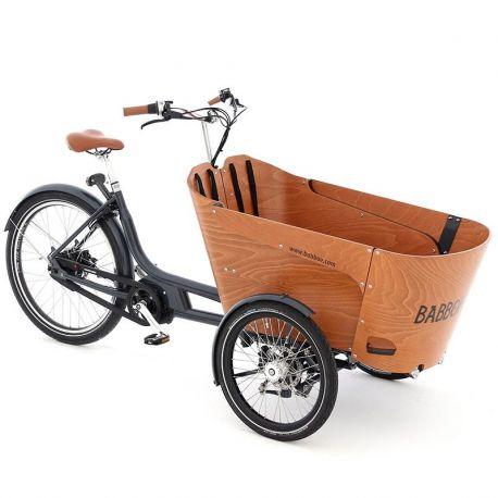 Triporteur électrique Babboe Carve Mountain chez vélo horizon port gratuit à partir de 300€