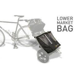 Sacoche Market noir inferieur pour remorque Burley Travoy chez vélo horizon port gratuit à partir de 300€