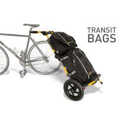Sacoche TRANSIT noir supérieur pour remorque Burley Travoy chez vélo horizon port gratuit à partir de 300€