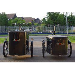 Vélo électrique triporteur cargo Nihola chez vélo horizon port gratuit à partir de 300€