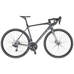 Velo SCOTT Addict 10 disc grey (KH) chez vélo horizon port gratuit à partir de 300€