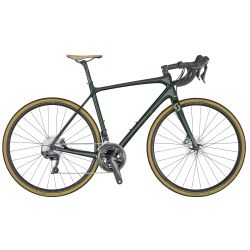 Velo SCOTT Addict 10 disc green (KH) chez vélo horizon port gratuit à partir de 300€