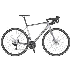 Velo SCOTT Addict 20 disc grey (KH) chez vélo horizon port gratuit à partir de 300€