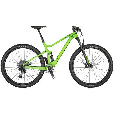 Velo Scott Spark 970 smith green 2021 chez vélo horizon port gratuit à partir de 300€
