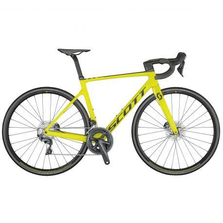 Velo Scott Addict RC 30 yellow 2021 chez vélo horizon port gratuit à partir de 300€