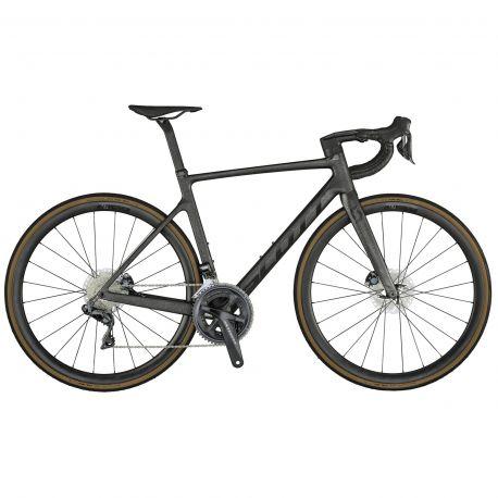 Velo Scott Addict RC 15 carbon onyx black 2021 chez vélo horizon port gratuit à partir de 300€