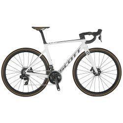 Velo Scott Addict RC 10 pearl white 2021 chez vélo horizon port gratuit à partir de 300€