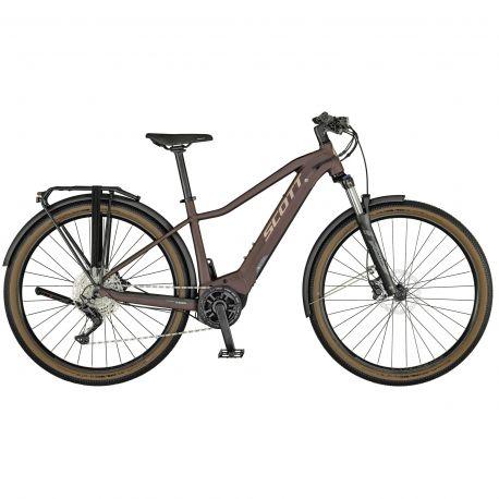 Velo Scott Axis eRIDE 20 Lady 2021 chez vélo horizon port gratuit à partir de 300€