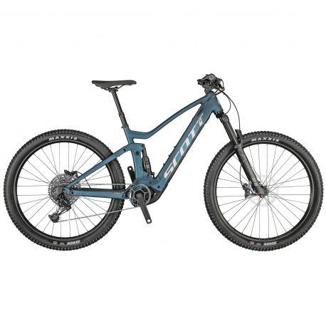 Velo Scott Strike eRIDE 930 blue 2021 chez vélo horizon port gratuit à partir de 300€