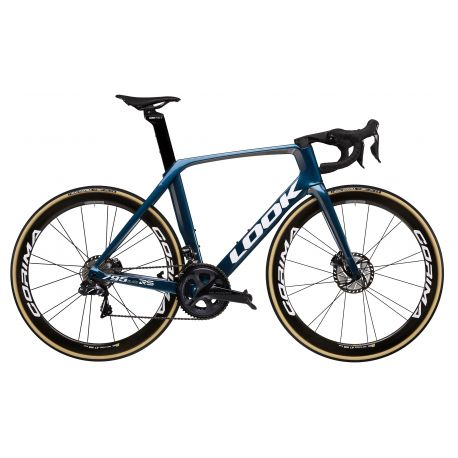 LOOK 795 BLADE DISC DI2 METALLIC BLUE S/ CORIMA 47MM chez vélo horizon port gratuit à partir de 300€