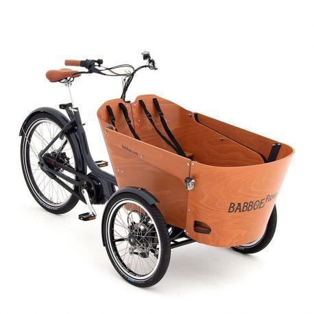 Triporteur électrique Babboe Flow Mountain chez vélo horizon port gratuit à partir de 300€