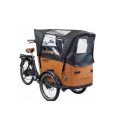 Babboe Tente de protection de pluie noir chez vélo horizon port gratuit à partir de 300€