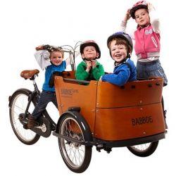 Triporteur (électrique) Babboe Curve-E chez vélo horizon port gratuit à partir de 300€