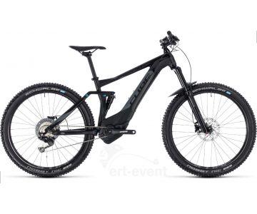 """VTT électrique Cube Stereo Hybrid 140 Pro 500 27.5"""" 2018 chez vélo horizon port gratuit à partir de 300€"""