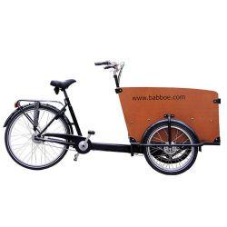 Triporteur (électrique) Babboe Big-E chez vélo horizon port gratuit à partir de 300€